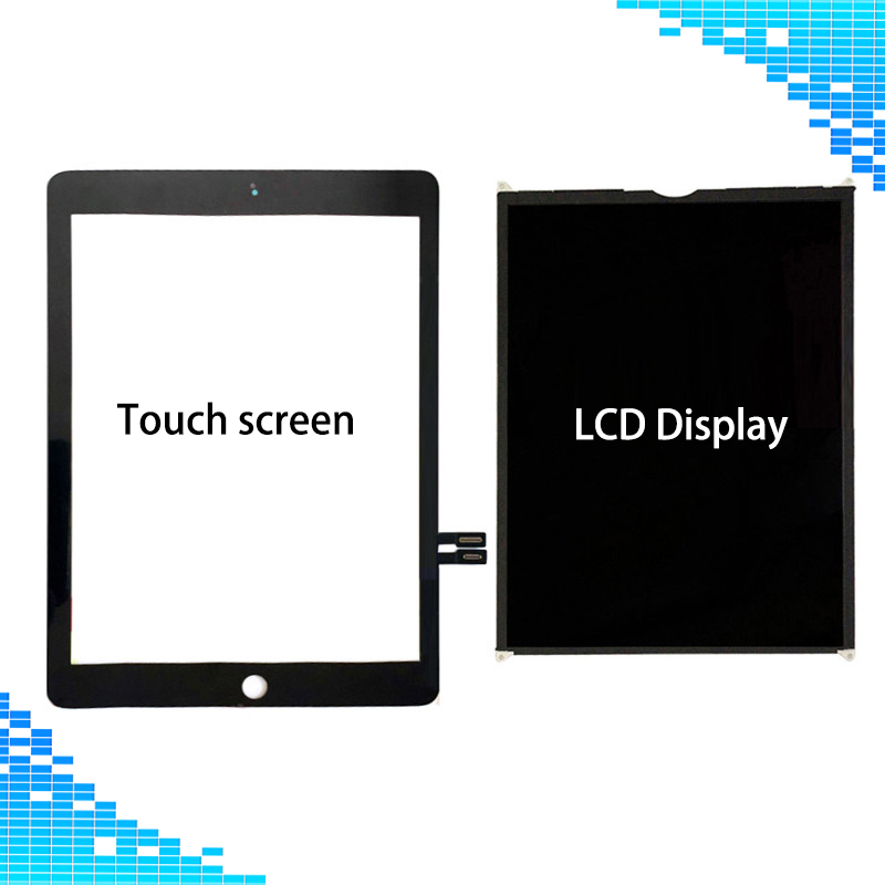 Screen Repair For iPad 9.7 2018 Version A1893 A1954 Touch Screen Digitizer panel & LCD Display For iPad 6 6th Gen A1893 A1954 аксессуар защитное стекло для meizu m5s svekla full screen black zs svmzm5s fsbl