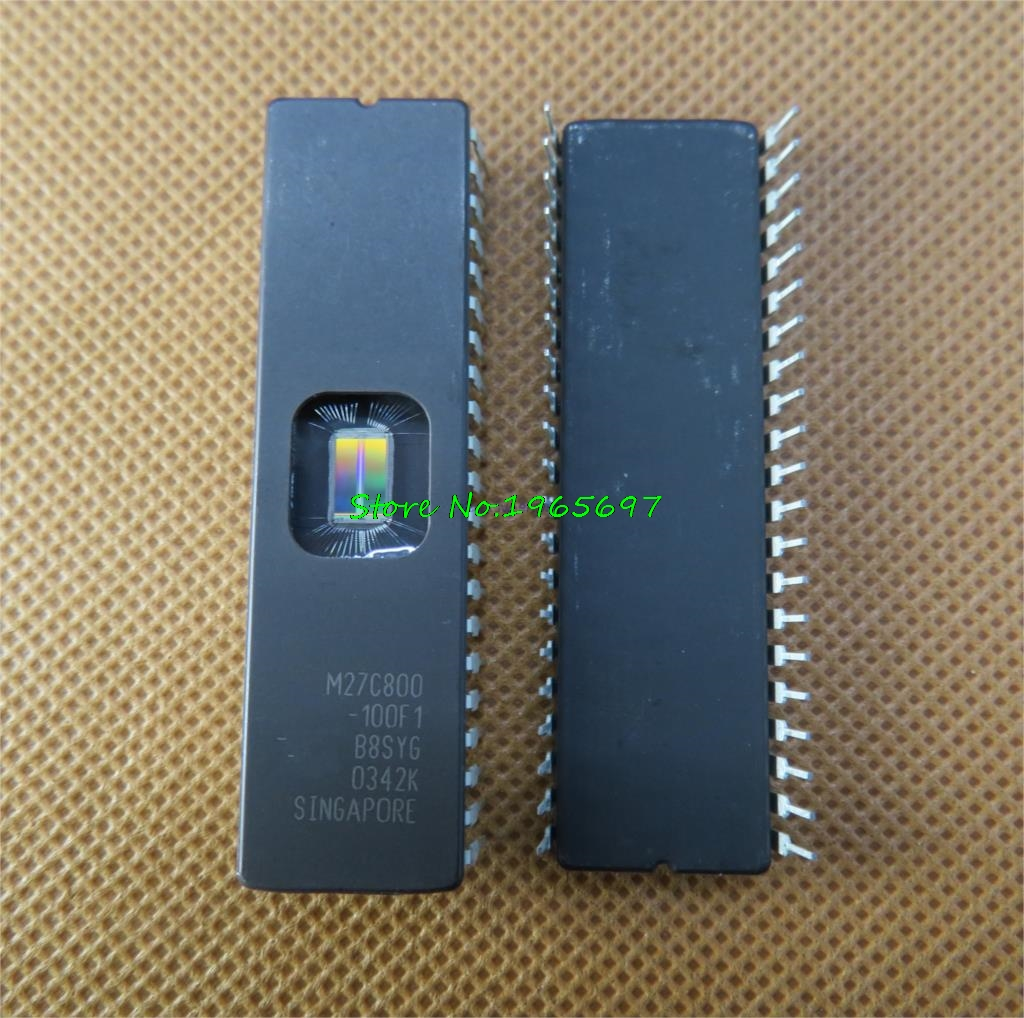 1pcs/lot M27C800-100F1 M27C800-100FI M27C800-120F1 M27C800 27C800 CDIP-42 In Stock