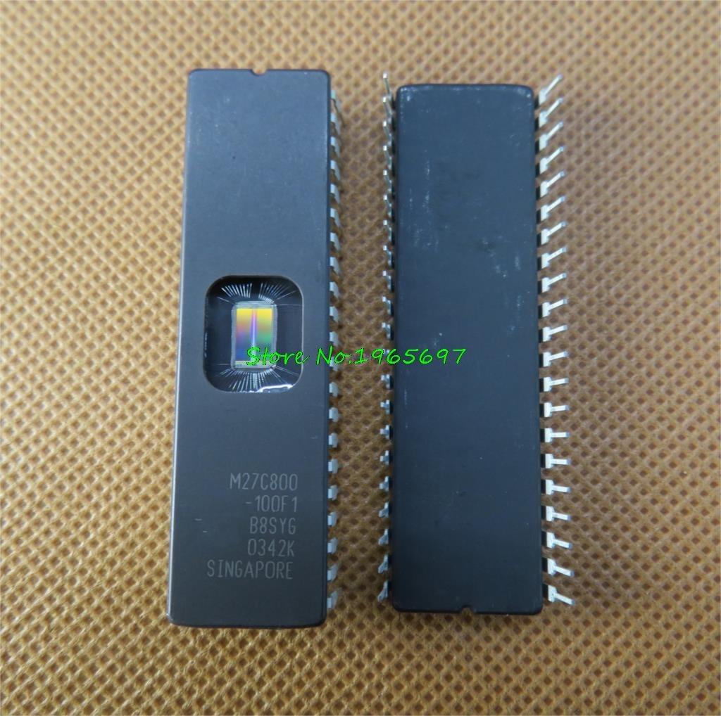 1pcs/lot M27C800-100F1 M27C800-100FI M27C800-120F1 M27C800 27C800 CDIP-42 In Stock