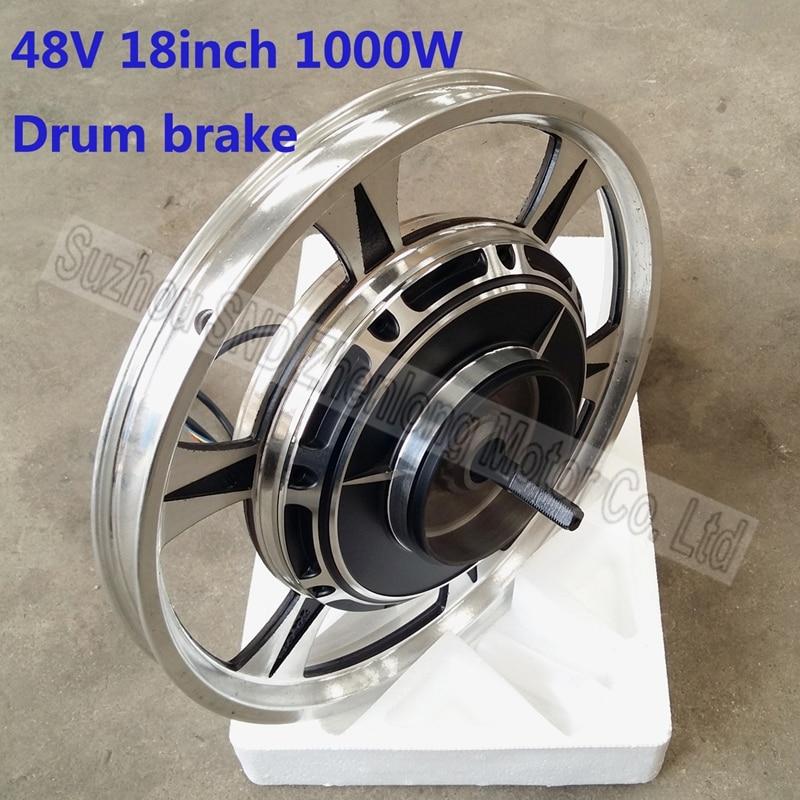 Customized 18 inch e-scooter motor 48V 1000watt /high speed brushless DC bike diy parts G-M051 - Suzhou SND Zhenlong Motor Co. Ltd store