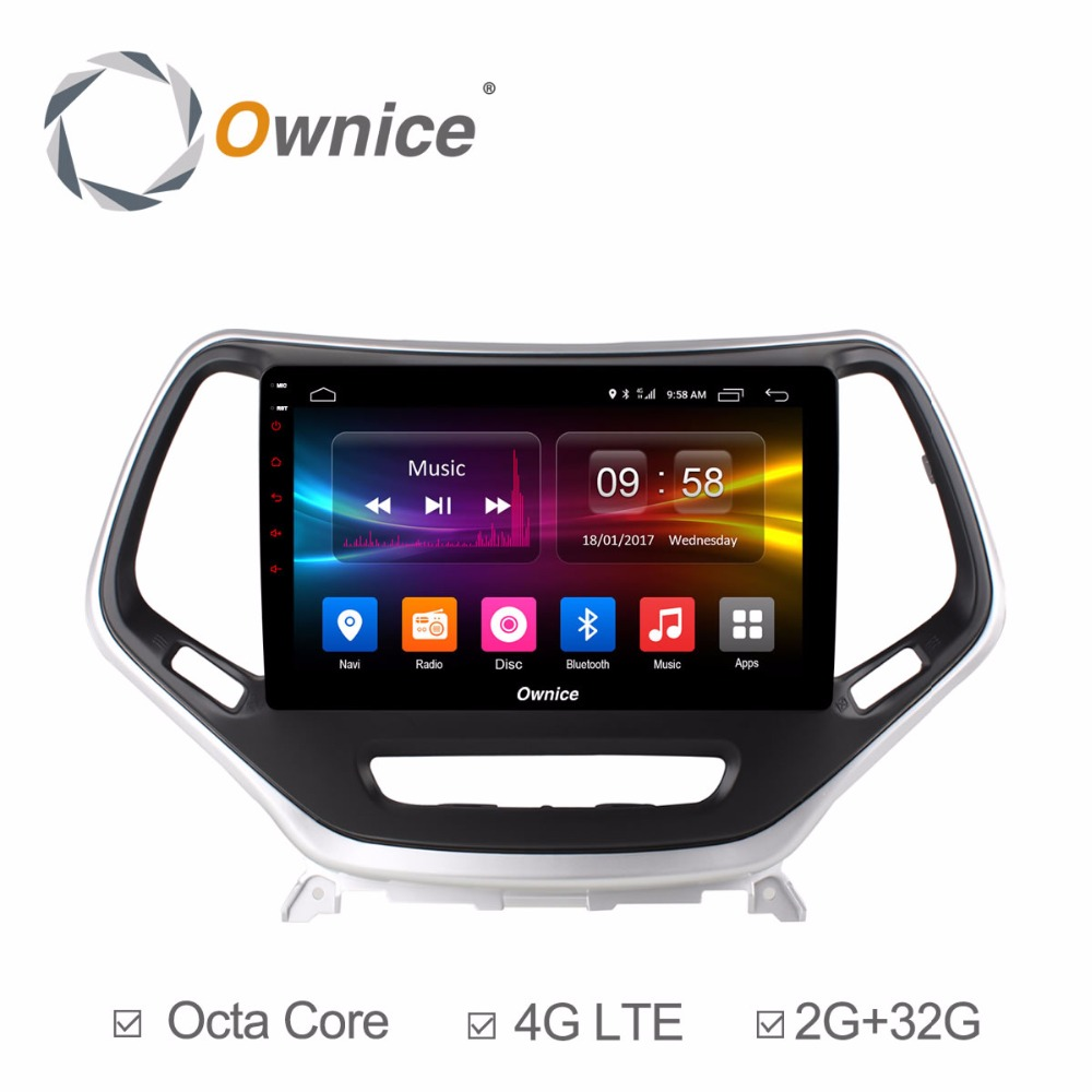 for Jeep Cherokee 2014 2015 2016 Android Car DVD Head Unite Radio Video Player Vehicle GPS Navigation Audio Stereo Smart System