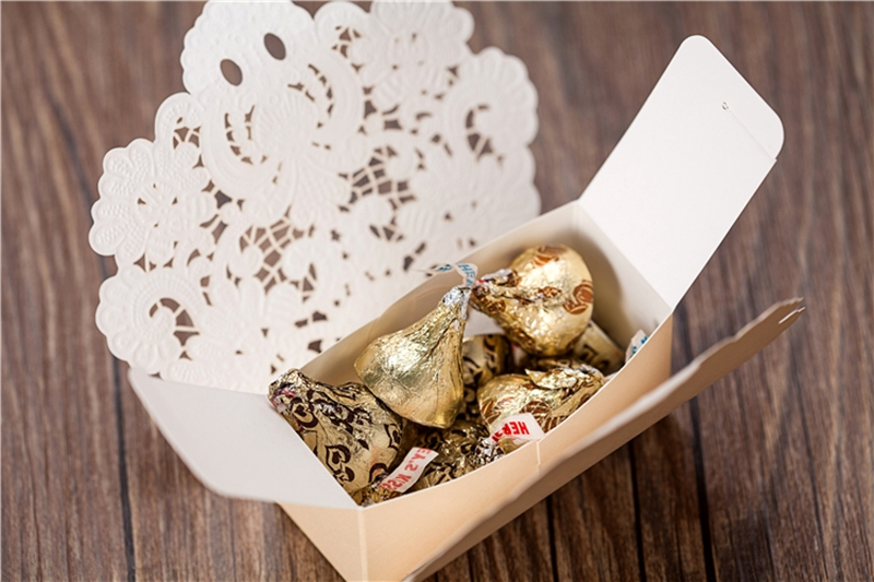 100 Pcs Free Shipping Red Champagne Color Laser Cut Wedding Favor Boxes Candy Box Casamento Favors And Gifts On Aliexpress