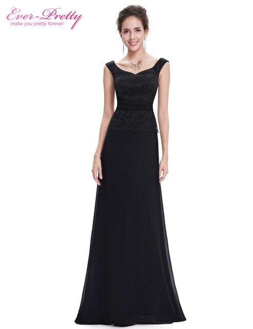 8c335f9446f5d  Venta de liquidación  Gasa Vestido Nunca Bastante HE08646 Estilo Elegante  Negro Sin Mangas Del