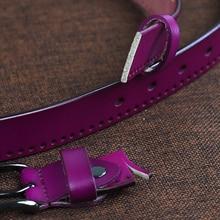 Women's Cowhide Leather Belt