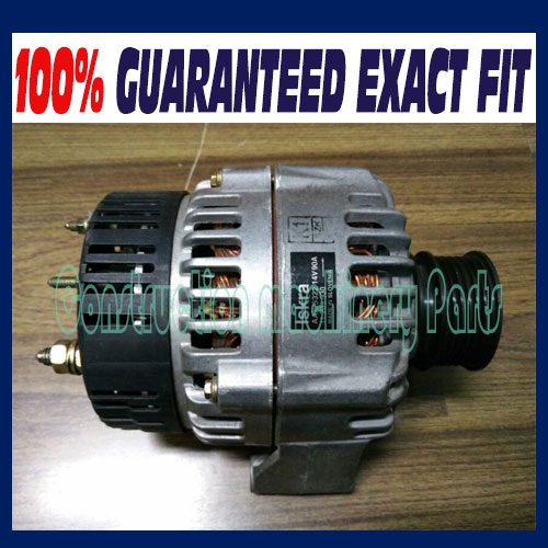 DEUTZ AAK 5322 /AAK5322, AAK 5335 / AAK5335 alternator 14V 90A for 1013 series engine part deutz fahr ag part catalog v5 0 1 [2010]