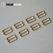 100pcs Metal Tri-glide alloy buckle 1 Inch(25mm) plated belt button backpack bag DIY dog collar harness decoration accessories