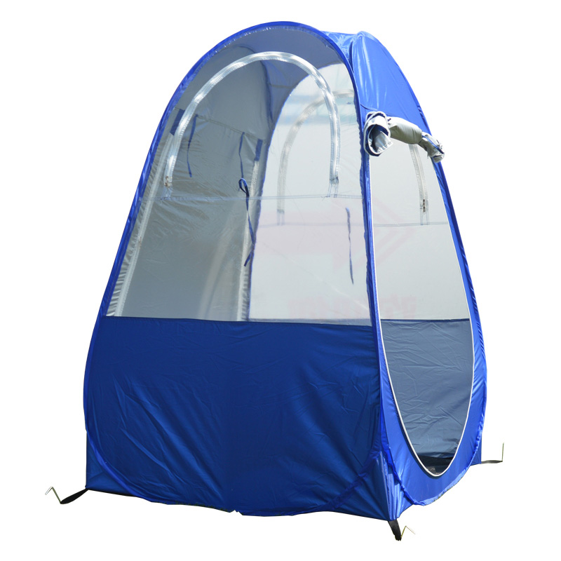 bb4a10e13 Única pessoa pop up barraca de pesca ao ar livre Portátil com a função de  UV 100 100 160 cm pode ser usado como pesca no gelo ou a pesca da noite