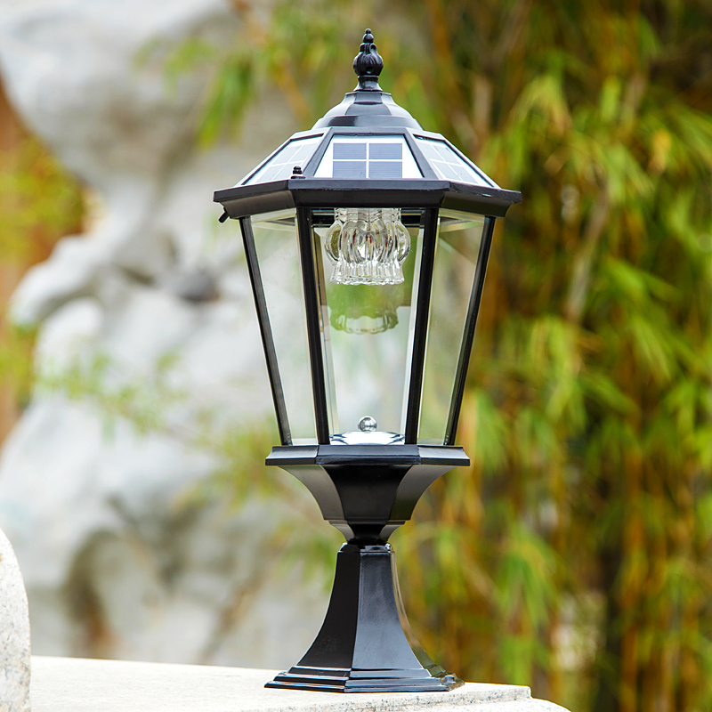 Solar outdoor wall lamp post lights lamppost headlights villa garden solar outdoor wall lamp post lights lamppost headlights villa garden courtyard landscape dew in solar lamps from lights lighting on aliexpress workwithnaturefo