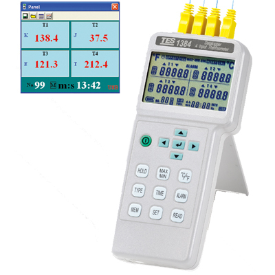 Fast arrival TES1384 4 input display Digital Thermometer Temperature Reader Meter