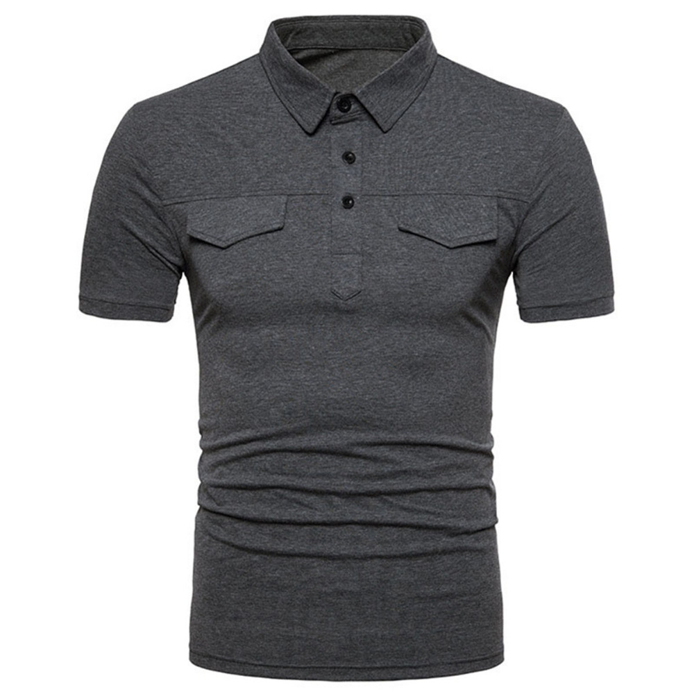 Male Slim Fit Shirt Men   Polo   Shirt Short Sleeve Brand High Quality Casual Office Clothes 2018 Golf   Polo   Solid Color