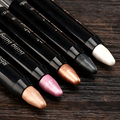 15 Colors Eyeshadow Pen Shimmer Matte Eyeshadow Brand Makeup blue white golden brown Eye Shadow