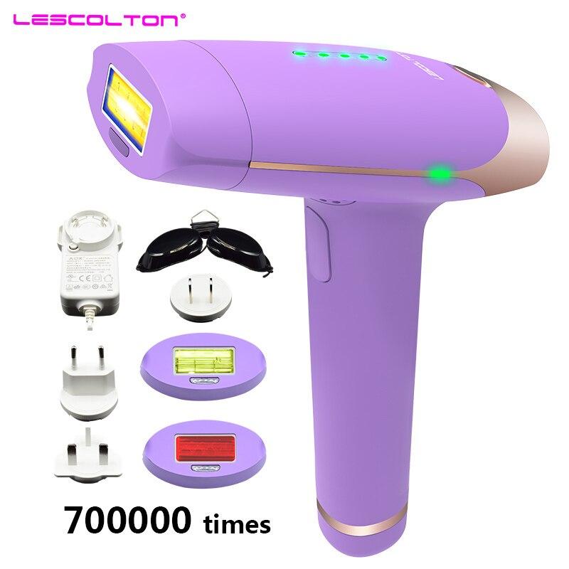 все цены на 700000 times Lescolton IPL 3in1 depilador a Laser Hair Removal Machine Permanent Bikini Trimmer Electric Lazer Epilasyon онлайн