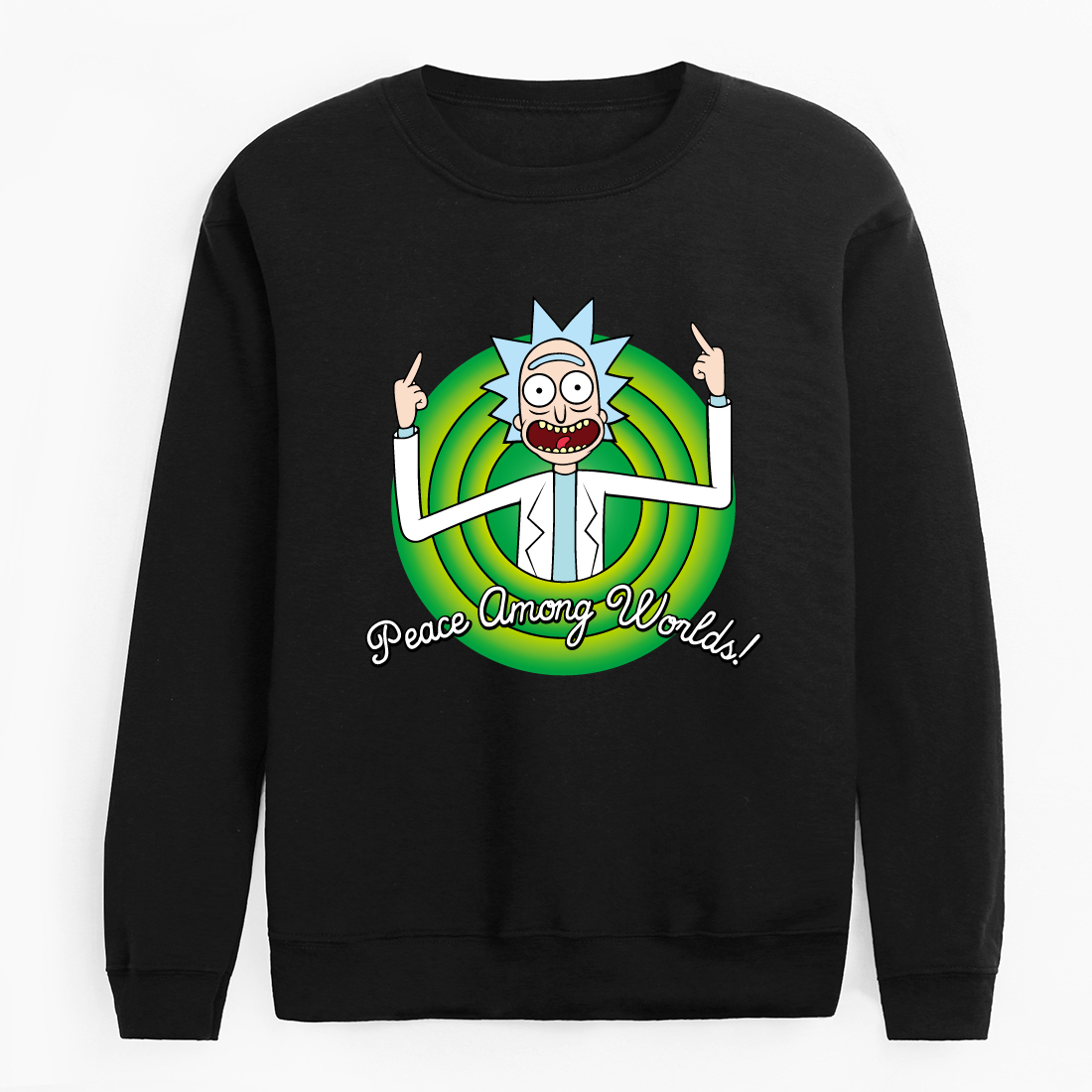 2020 New Autumn Character Anime Cool Rick Morty Hoodies Peace Among Worlds Folk Hoodie Men Women Cotton Casual Funny Pullover