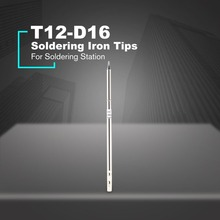 T12 Electronic Soldering Iron Tip T12-D16 High-grade Welding Tools T12 Soldering Tip for Soldering Station Rapid heating shape k series t12 kf t12 k t12 kr t12 ku t12 iron tip for fx951 stc and stm32 oled soldering