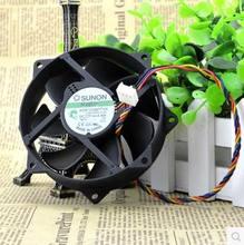 Gratis verzending originele en nieuwe voor sunon kde1209ptvx 4pin 12 v 0.36a 4.4 w 90x90x25mm pwm maglev koelventilator