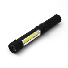 COB LED Mini Pen Multifunction led Torch light cob Handle work flashlight cob Work Hand Torch Flashlight USE 3*AAA batteries