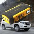 2017 Super Capacity 16000mAh 12V Car Jump Starter Mobile 4USB Power Bank Mini Compass SOS Lights 600A Peak Car Charger Free Ship