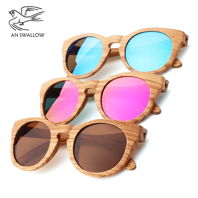 Vintage 100 Real Zebra Wood Sunglasses Polarized Handmade Bamboo Men 39 s Sunglasses Sunglasses Men 39 s Gafas Oculos De Sol Madera in Women 39 s Sunglasses from Apparel Accessories
