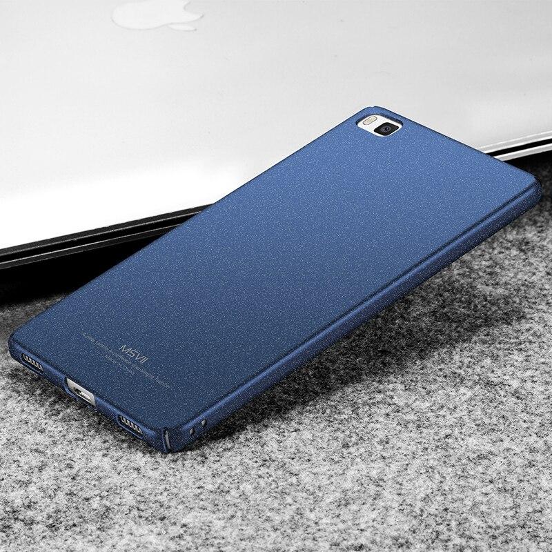 Huawei p8 cubierta case huawei p8 msvii super delgado liso y mate duro contrapor