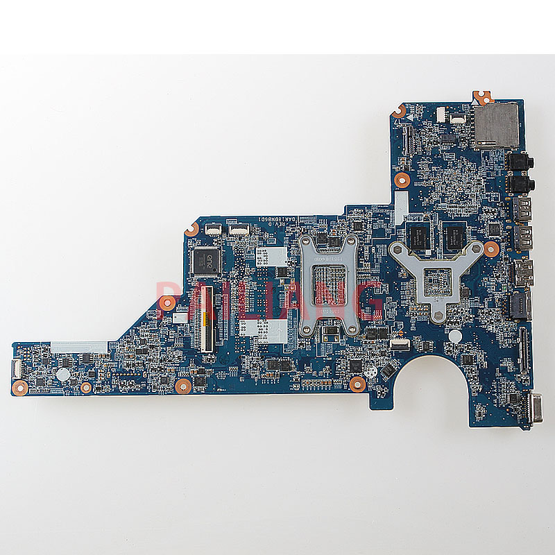 PAILIANG Laptop motherboard for HP G4 G6 G7 PC Mainboard HM55 655985 001 DAR18DMB6D1 tesed DDR3 - 2