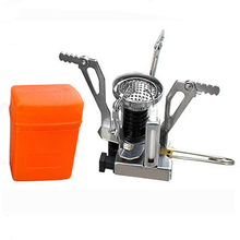30PCS /LOT  Portable  Mini Stainless Steel  Outdoor Camping Stove  Outdoor Picnic Gas Stove