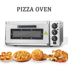 Commercial Electric Pizza Oven Single Deck CE Commercial Baking Fire Stone Catering Kitchen 350 degree Horizontal Oven commercial gas pizza oven price stone fire pizza oven pizza baking oven