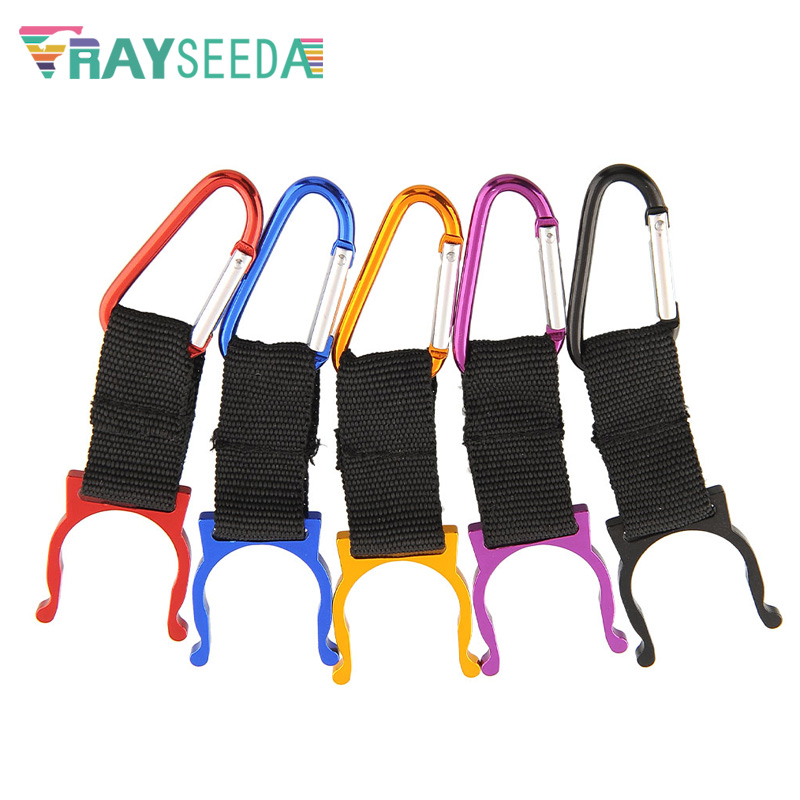 Rayseeda 3pcs A Lot Climbing Carabiners Camping Carabiner Water Bottle Buckle Hook Holder Clips Hiking Traveling Backpack Clasps