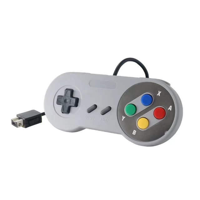 Wired Super for Nintendo SNES Controller Gaming Joypad Joystick for SNES Classic Edition Controller