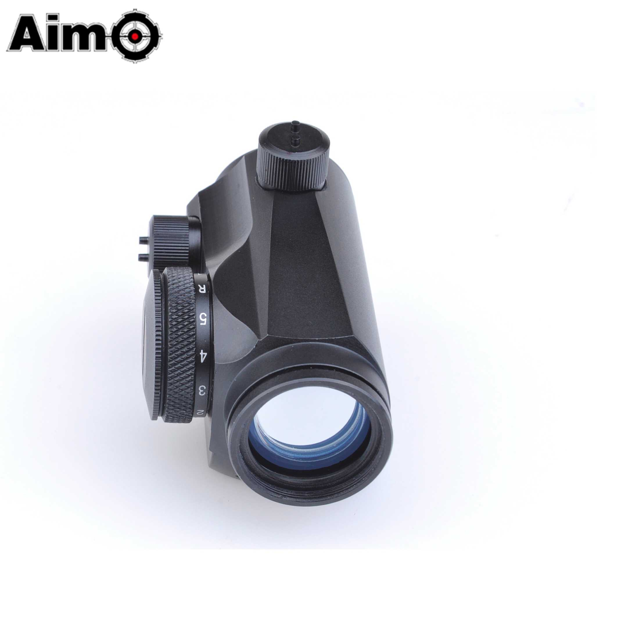 AIM-O Optische Sight Hunting Holografische Rood Groen Dot Laser Sight Scope Fit 20mm Rail Mount Jacht Scope AO 5013