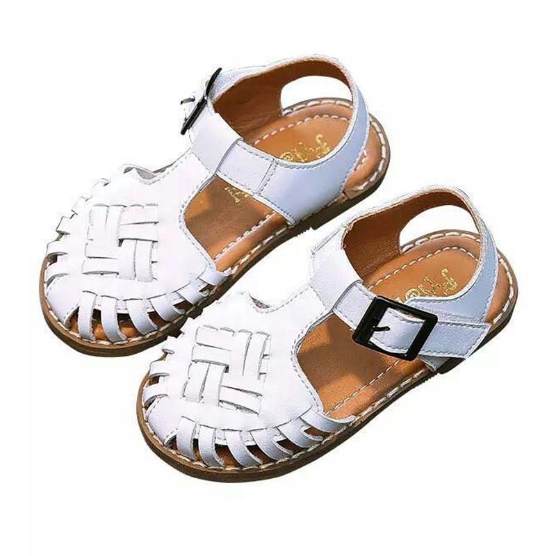 Kids Sandals Summer 2019 New Microfiber Korean Hollow Out Weave Girls Princess Shoes Breathable Beach Sandals Baby Toddler ShoesKids Sandals Summer 2019 New Microfiber Korean Hollow Out Weave Girls Princess Shoes Breathable Beach Sandals Baby Toddler Shoes