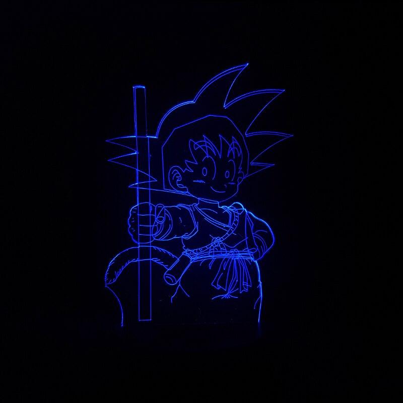 Luzes da Noite dragon ball son goku macaco Function 2 : Led Bulb/holiday Novelty Lighting/night Light