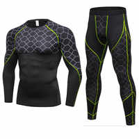 Winter Thermal Underwear Sets Men Brand Quick Dry Anti-microbial Stretch Men's Thermo Underwear Male Warm Long Johns