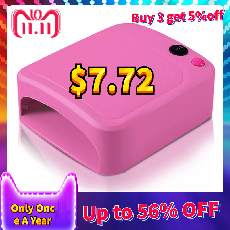 Belleza 36 w lámpara UV secador de uñas Gel de manicura con temporizador máquina de Arte de uñas Enchufe europeo
