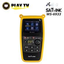 オリジナル Satlink WS 6933 DVB S2 Satfinder FTA C & Ku 帯デジタル衛星ファインダー 2.1 インチ Lcd ディスプレイ DVB S2 土メーター Ws 6933