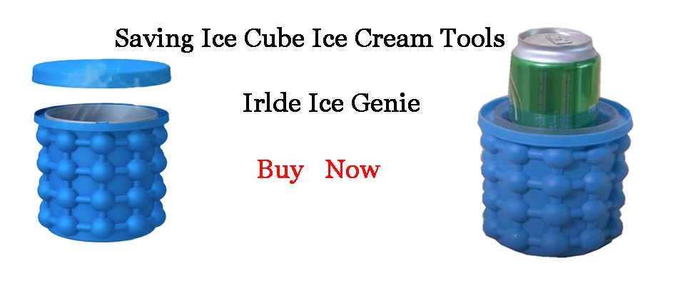 Saving Ice Cube Ice Cream Tools