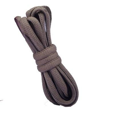 """100 см/3"""" овальные плоские шнурки Шнурки кроссовок 24 цветов для выбора - Цвет: No 28 khaki"""