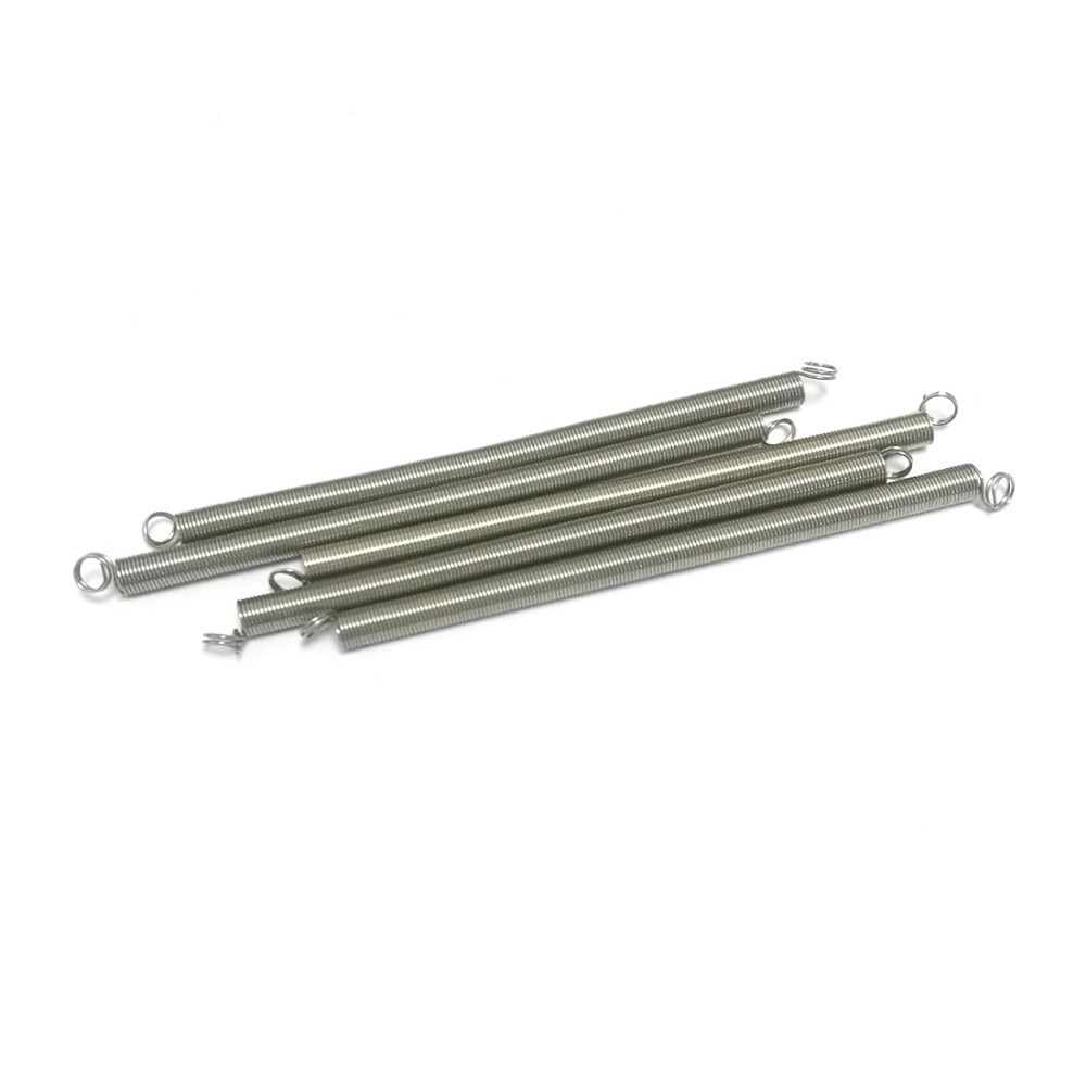 10pcs 304 stainless steel extension spring with tension springs Linear diameter 0.5*5mm DIY wholesale price