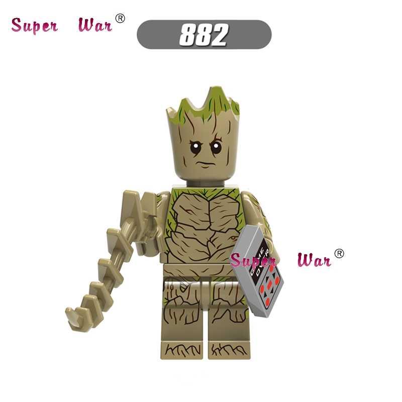 50 шт. Marvel Мстители 3 бесконечные войны танос MCU стражи Галактики Железный Человек строительный блок для детей игрушки