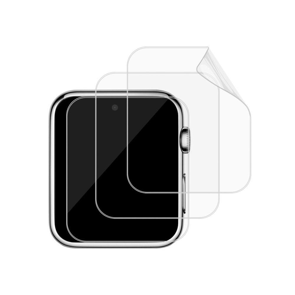 ZAOYIMALL 3 Pièces 1.54 Pouce Trempé Doux Protecteur D'écran En Verre Film pour DM09 et DM09 plus Montre Smart Watch Smartwatch Transparent