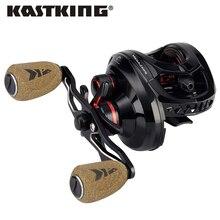 Kastking megajaws baitcasting リール色コード化されたギア比のためのスムーズなベイトキャスティングリール 8 キロドラッグ低音釣り