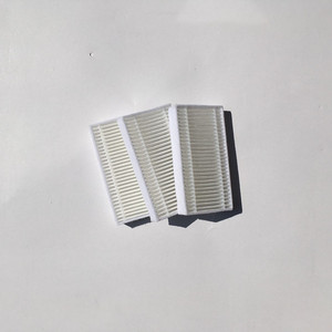 Image 4 - Vacuum Robotic Cleaner Parts for Haier SWR T320 T321 T325 vacuum cleaner parts side brush x6+ mop cloth x3+HEPA Filter x3