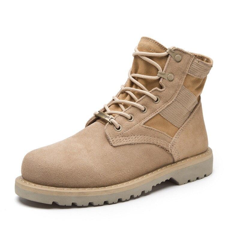 US $32.77 30% OFF Armee Stiefel Männer Military Boots Winter Wasserdicht Wüste Schuhe Leder Pelz Plüsch Schwarz Etanche Outdoor Jagd Botas Große Größe