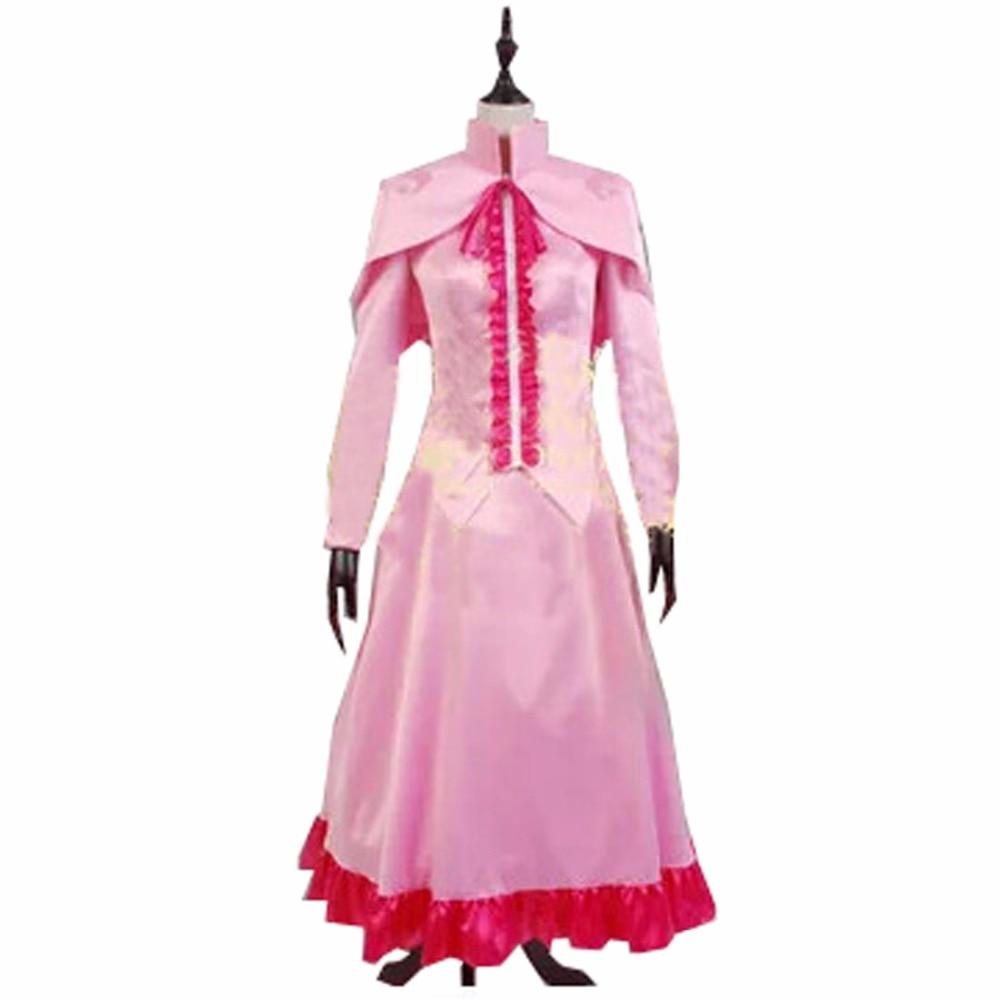 2017 Akame ga KILL Mine Cosplay Costume Night Raid Pink Uniform Outfit Suit Full Set