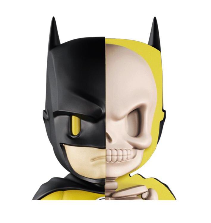 Funny Educational 4D DIY Puzzle Toys for Children Cool Skelekon Anatomy Cartoon Action FigureXXRAY Batman Doll