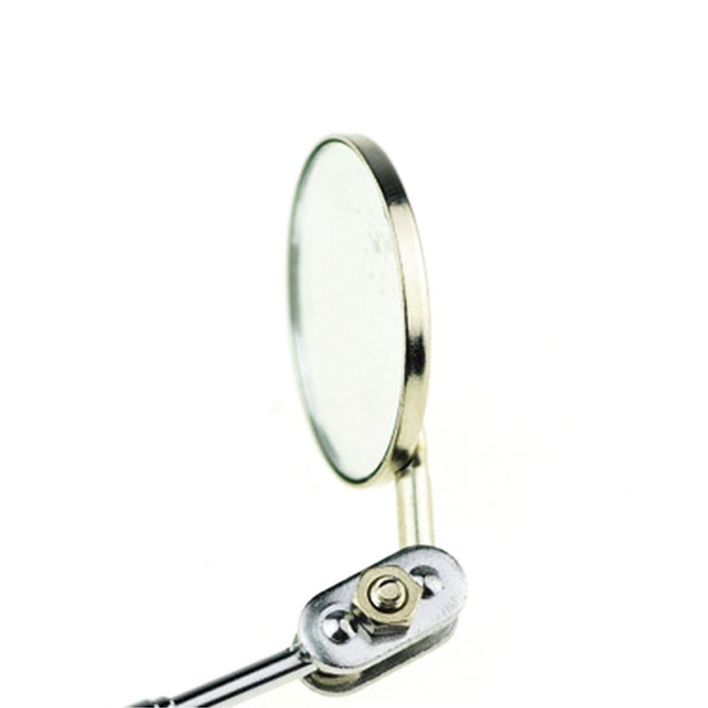 Vehemo 50 мм телескопическое зеркало для обнаружения складное зеркало Механист универсальные инструменты Угловое зеркало для осмотра поворотное