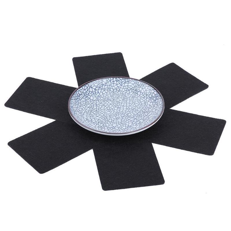 Hot Sale Resistant Mat Coaster Cushion Placemat Pot Holder Table Pad Pots Bowl Pans Separator Kitchen Accessories