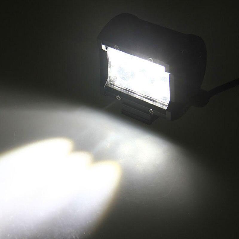 2x30 Вт 4 дюйма светодиодный свет работы Бар Наводнение луча для бездорожья 4WD Мотоцикл Грузовик