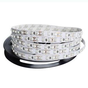Dc 12v 120led/m smd2835 5m led fita luzes tira tv backlight fiexible fita luzes para sala de estar casa conduziu a decoração da luz