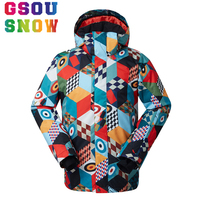 Gsou Snow Winter Men Snowboard Jacket Men S Skiing Jacket Warmth Clothes Waterproof 10000 Windproof Breathable