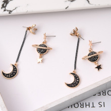 Jewelry New Brand Design Gold Color Pearl Stud Earrings For Women 2017 Accessories Wholesale
